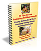 15 Tips to Lose Annoying Holiday Pounds - with PLR