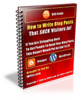 Thumbnail How to Write Blog Posts That SUCK Visitors In - with PLR