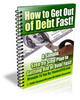 Thumbnail How to Get Out of Debt Fast - with PLR