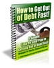 How to Get Out of Debt Fast - with PLR