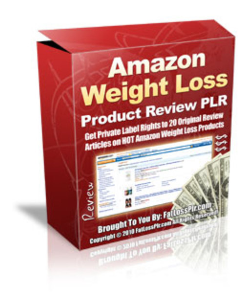 Product picture 20 Amazon Weight Loss Product Reviews - with PLR