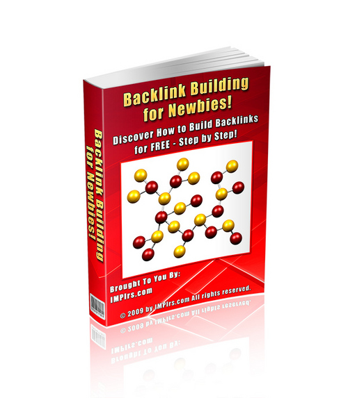 Product picture Backlink Building for Newbies - with PLR