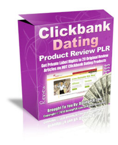 Product picture 20 Clickbank Dating Product Reviews - with PLR