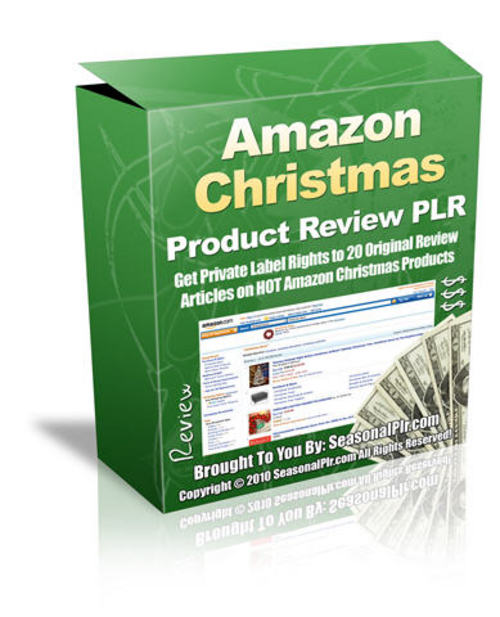 Product picture 20 Christmas Product Reviews - with PLR