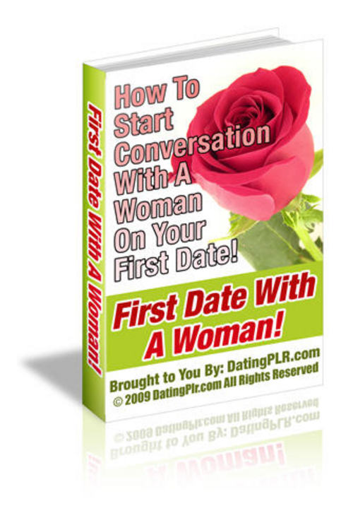 Product picture First Date with a Woman - with PLR