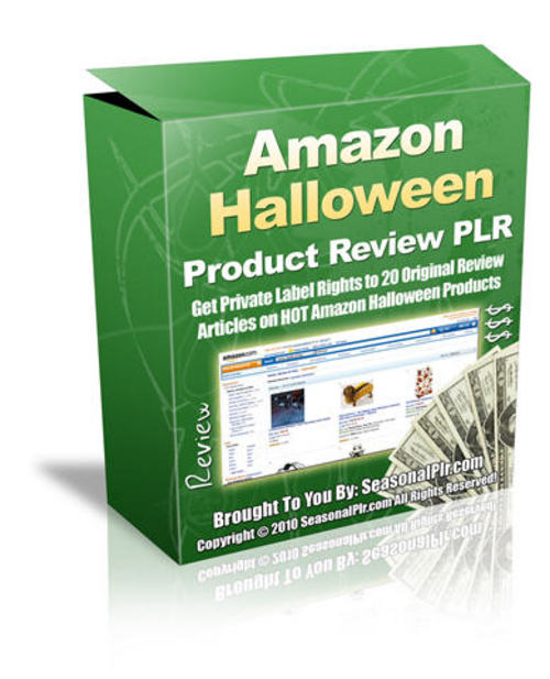 Product picture 20 Halloween Product Reviews - with PLR