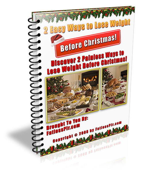 Product picture 2 Easy Ways to Help You Lose Weight Before Christmas - PLR