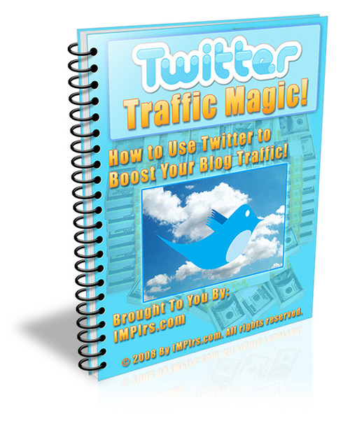 Product picture Twitter Traffic Magic - with PLR