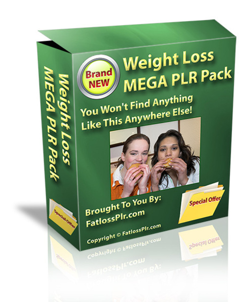 Product picture Weight Loss Mega PLR Pak - with PLR